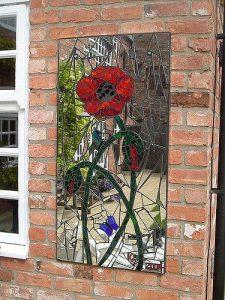 mosaics rose